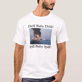 Camiseta Broca do bebê da broca? Derramar do bebê do