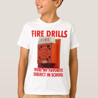 Camiseta Brocas de fogo