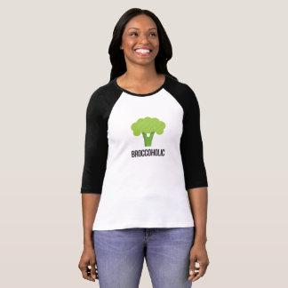 Camiseta Broccoholic - objecto indispensável para o Vegan &