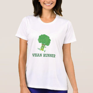 Camiseta Brócolos do corredor do Vegan