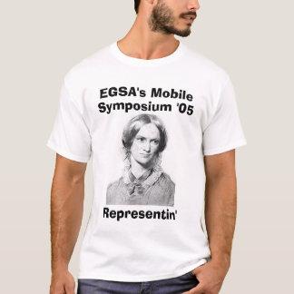 Camiseta bronte_c, o móbil de EGSA, simpósio '05, Represe…