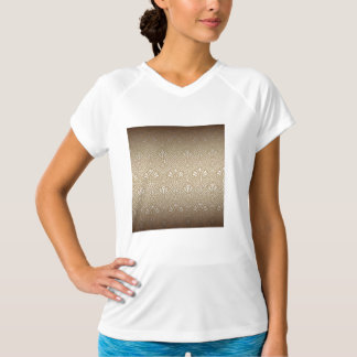 Camiseta Bronze, ouro, nouveau da arte, art deco, vintage,