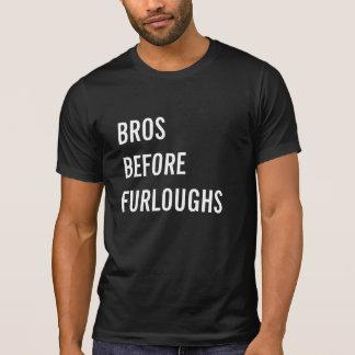Camiseta Bros antes dos Furloughs