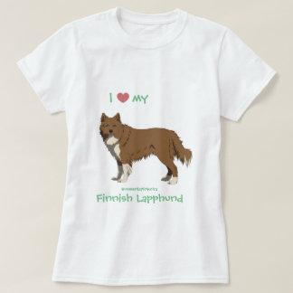 Camiseta brown finlandês irlandês Lapphund shirt -