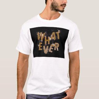 Camiseta Brown o que quer que
