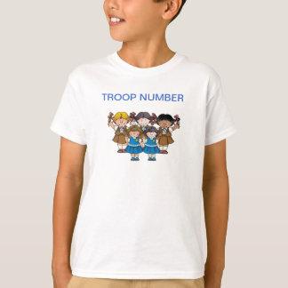 Camiseta Brownie/margarida