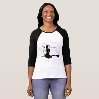 Camiseta Bruxa brincalhão o Dia das Bruxas feliz