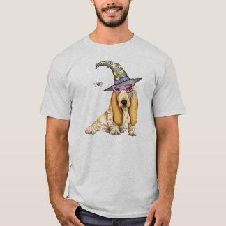 Camiseta Bruxa de Basset Hound