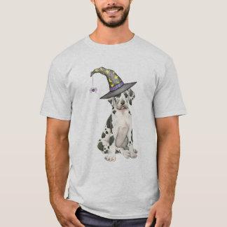 Camiseta Bruxa de great dane