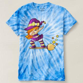 Camiseta Bruxa de toque ligeiro de Kawaii