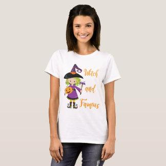 Camiseta Bruxa e famoso