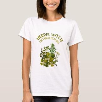Camiseta Bruxa erval - cura natural, ervas, saúde