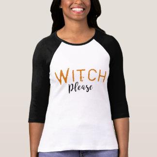 Camiseta Bruxa por favor