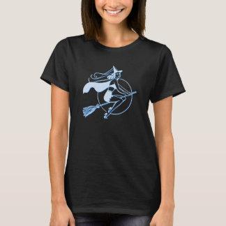 Camiseta Bruxa retro do estilo da tipografia