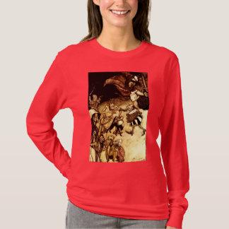 Camiseta Bruxas antigas dos diabretes dos mágicos de Arthur