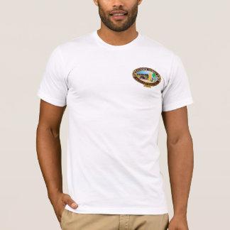Camiseta BT216W - T clássico de um Waikiki de 1946 verões