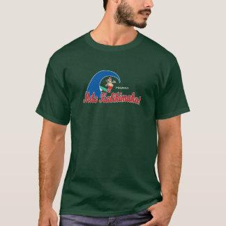 Camiseta BT234 - Papai noel surfando de Mele Kalikimaka