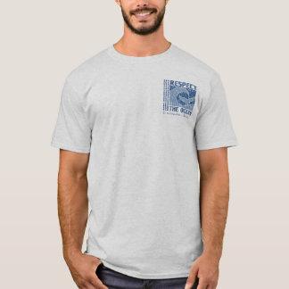 Camiseta BT321 - Respeite o oceano, proteja o T do mar