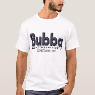 """Camiseta Bubba U. (universidade) """"escola do senso comum """""""