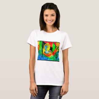 Camiseta buddha abstrato