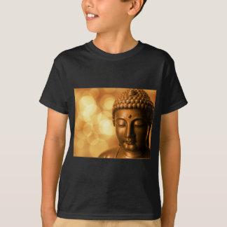 Camiseta Buddha dourado