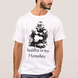 Camiseta Buddha é meu ficar em casa
