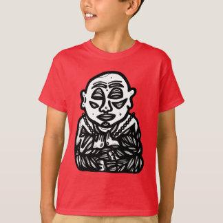 """Camiseta """"Buddha Pray"""" o t-shirt de Hanes TAGLESS® dos"""