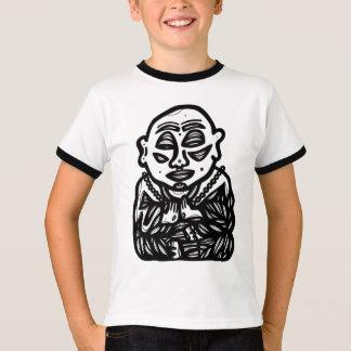 """Camiseta """"Buddha Pray"""" o TShirt da campainha dos meninos"""