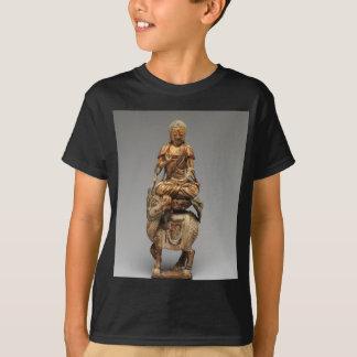 Camiseta Buddha Shakyamuni com bodhisattvas assistentes