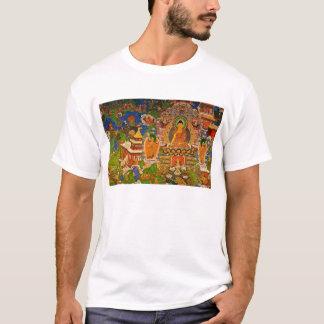 Camiseta Budismo budista de Buddha que abençoa o Bohemian