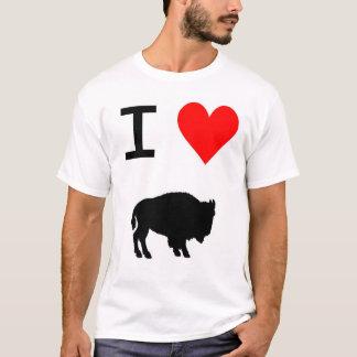 Camiseta búfalo