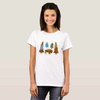 Camiseta Búfalo/bisonte