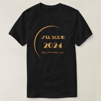 Camiseta Búfalo do t-shirt do eclipse