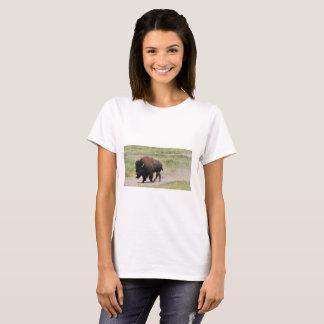 Camiseta Búfalo no movimento, fotografia