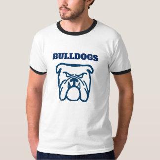 Camiseta Buldogue azul