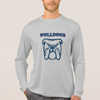 Camiseta Buldogue azul