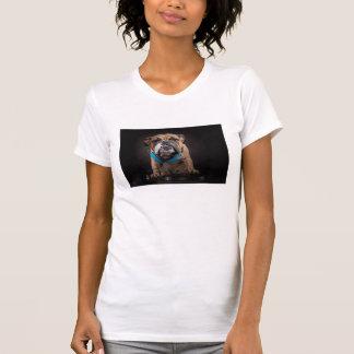 Camiseta buldogue DJ - o DJ persegue