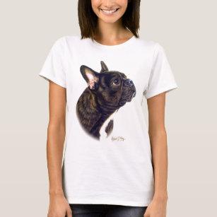Camisas   Camisetas Buldogue Francês  94ad8f6b2b536