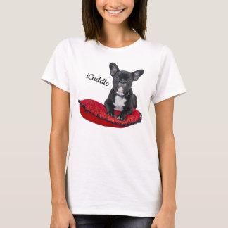 Camiseta Buldogue francês do iCuddle adorável