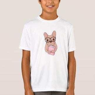Camiseta Buldogue francês Nerdy