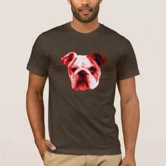 Camiseta Buldogue vermelho americano - os melhores cães