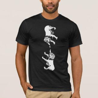 Camiseta Buldogues do inglês da guerra de O do reboque '
