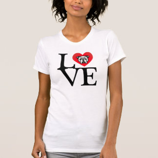 Camiseta Buldogues grandes do AMOR