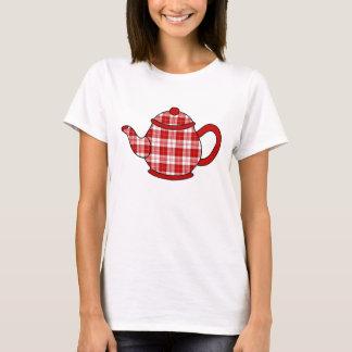 Camiseta Bule da xadrez de Tartan de Menzies