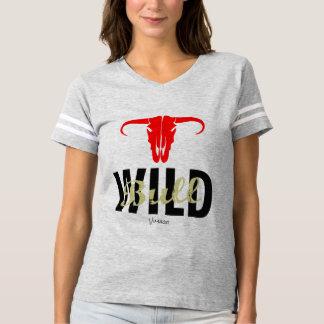 Camiseta Bull selvagem por VIMAGO