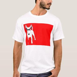 Camiseta Bull terrier na dama Edna Vidro