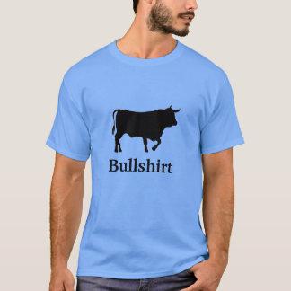 Camiseta Bullshirt - pescoço de grupo do t-shirt