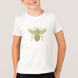 Camiseta Bumble a mandala da abelha