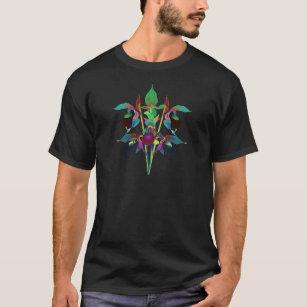 Camiseta Buquê da senhora deslizador de Solarized