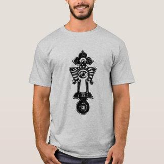 Camiseta Buraco da fechadura de 33 graus